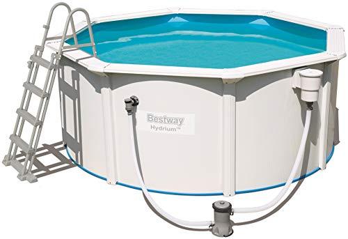 Bestway Hydrium Pool Set, rund 300×120 cm Stahlwandpool… | 06942138919707