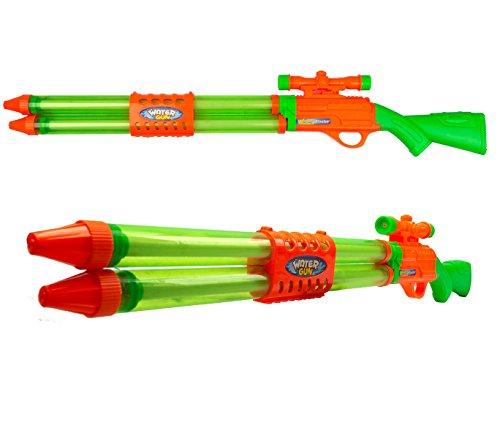 334577 Rifle de francotirador LONGSHOT con doble pulverizador WATER BLASTER