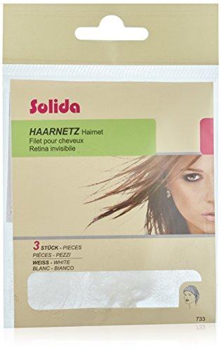 Solida Haarnetz weiß, 1er Pack, (1x 3 Stück)