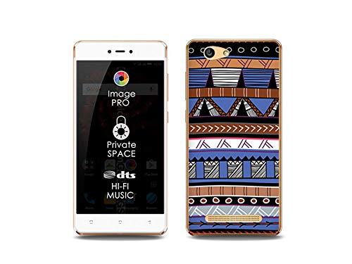 etuo Handyhülle für Allview X3 Soul Lite - Hülle, Silikon, Gummi Schutzhülle Fantastic Case - Ethnische Muster
