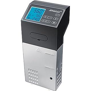 Steba 05.10.00 SV 100 Professional Sous-Vide Garer Pumpleistung 7.5 L/Min, 1500 W, Kunststoff Schwarz, Edelstahl