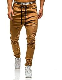 BOLF – Jogging pantalons – Pantalons de sport – Jogger – Casual – Baggy – Motif – Homme [6F6]
