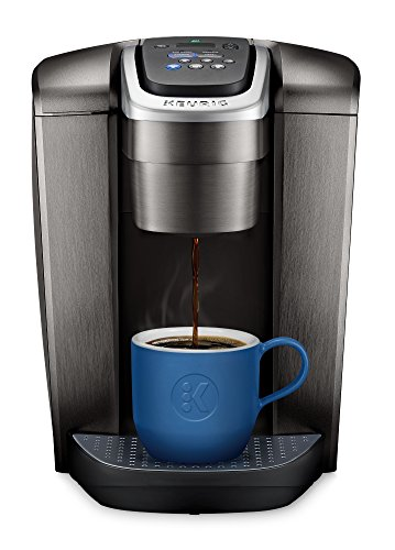 Keurig K-Elite K Single Serve K-Cup Pod Maker, with Strong Temperature Control, Iced Coffee Capability, 12oz Brew Size, Brushed Slate