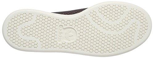 adidas Originals Stan Smith Primeknit Unisex-Erwachsene Low-Top Schwarz (Core Black/Green/Chalk White)