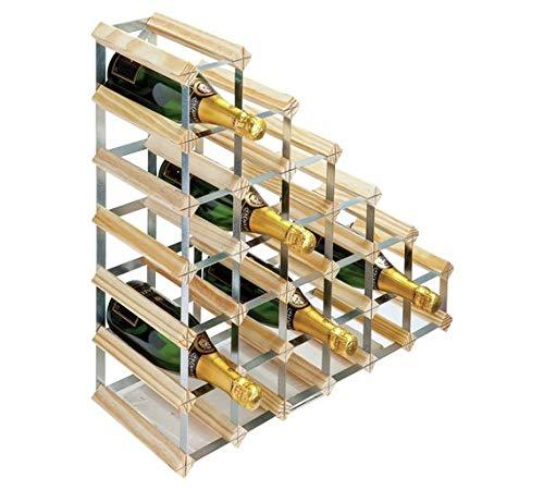 RTA Étagère à vin 27 bouteilles sous les escaliers