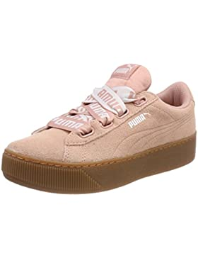 Puma Damen Vikky Platform Ribbon Bold Sneaker