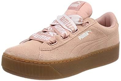 puma damen sneaker rosa grau