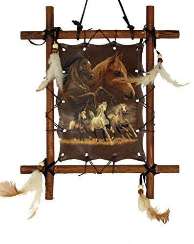 OBI Gerahmtes Pferdebild, Pferde, 22,9 x 27,9 cm, inkl. Rahmen, Reproduktion