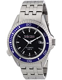 Nautec No Limit Herren-Armbanduhr Shore SH AT/STSTBLBK