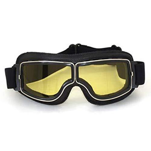 LAIABOR Motorradbrillen Polariisierte Motorradbrille Outdoor-Bergsteiger-Brillen Lokomotive Fahren Offroad-Maske Brillen,C