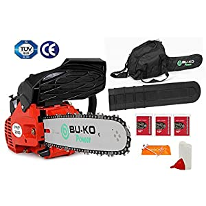 """BU-KO 26 cc Lightweight 3.5kg - Top Handled Petrol Chainsaw 