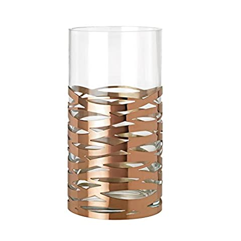 Tangle Magnum Floor Vase glass/copper/H: 35,5cm/Ø