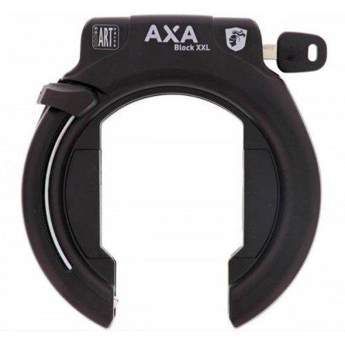 AXA Block XXL Ringschloss Rahmenschloss Fahrrad Schloss Schwarz