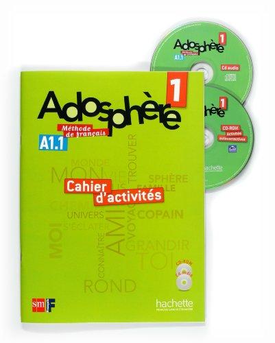 Méthode de français 1. Adosphère. Cahier d'activités - 9788467545807 por Céline Himber