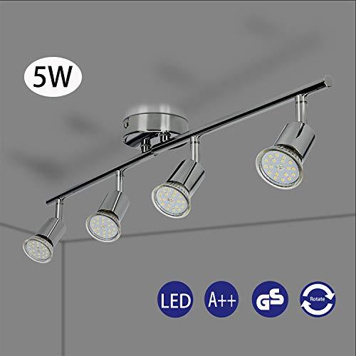 Foco LED para techo Lámpara de techo con focos redondos I incl....