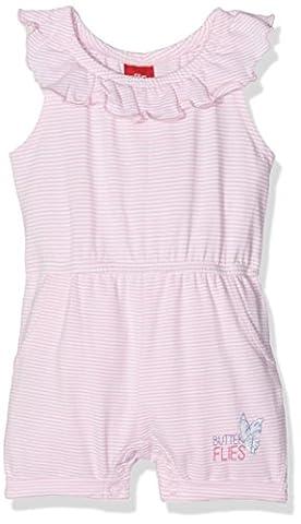 s.Oliver Baby-Mädchen Spieler Overall, Rosa (Zartrosa Stripes 41G4), 86