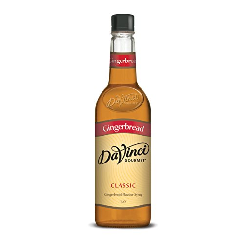 DaVinci Gourmet Classic Gingerbread Syrup Pet, 1er Pack (1 x 1 l)