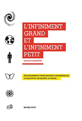 Livre gratuits L'infiniment grand et l'infiniment petit. La relativité, les quanta, le chaos... epub, pdf
