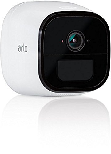 Netgear Arlo Go kabellose Indoor-/Outdoor LTE HD Sicherheitskamera (3G/4G-LTE, Wetterfest, Nachtsicht, 2-Wege-Audio, kostenlose Cloud-Aufzeichnung) weiß, VML4030-100PES