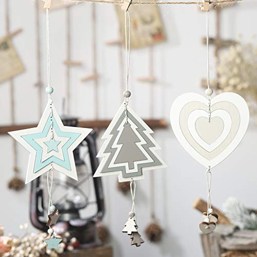 41HRMf87r L. SS500  - Y56 Christmas Wooden Four-Layer Hollow Pendant Creative Cute Hanging Pendant
