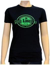 Coole-Fun-T-Shirts T-shirt Mac Laren Irish Pub - Himym - Camiseta de deporte para mujer