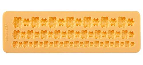 Tescoma 633042 Stampo in Silicone per Pasta Da Zucchero, Bordure con Fiori