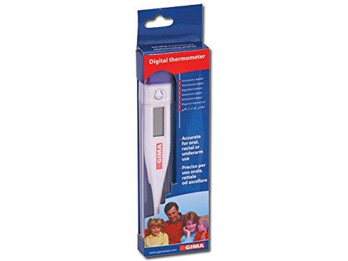 Thermomètre numérique de précision pour usage oral, axillaire ou rectale, mesure...