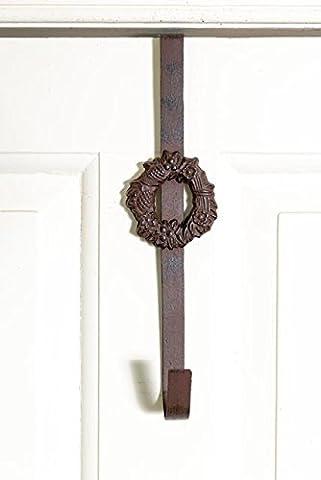 Porte cintre fonte couronne et chaussette de Noël