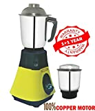 #10: LONGWAY Super DLX 650 WATT 2 JAR Mixer Grinder Powerful Copper Motor with 1+1 Year Warranty