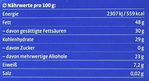 Xucker zuckerfreie Schokolade mit Xylit, Edelbitter, 5 x 100g Tafel - 3