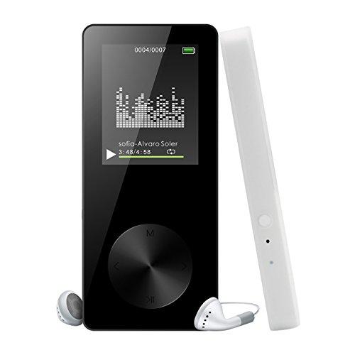 Lecteur MP3 MP4 Musique Portable 8GB, Reytour Baladeur MP3/MP4 avec Photo Viewer,...