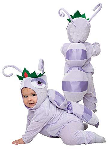 Clown Republic- Ameisen-Kostüm, Mädchen, 84504/04, mehrfarbig