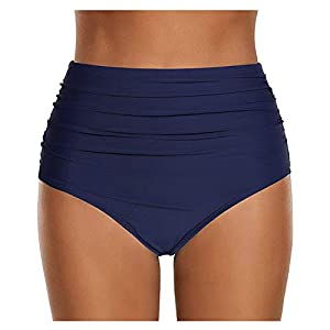 Abravo Donna Bikini Slip Vita Alta Costume da Bagno Brasiliana Briefs Pantaloni Parte Inferiore Estate Mare 4 spesavip