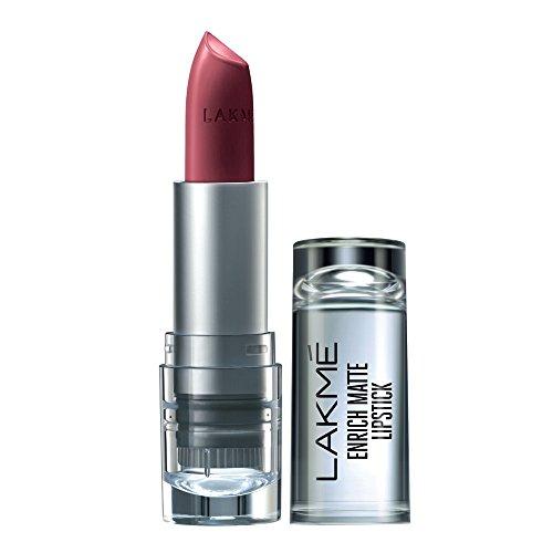 Lakme Enrich Matte Lipstick, Shade WM11, 4.7 g