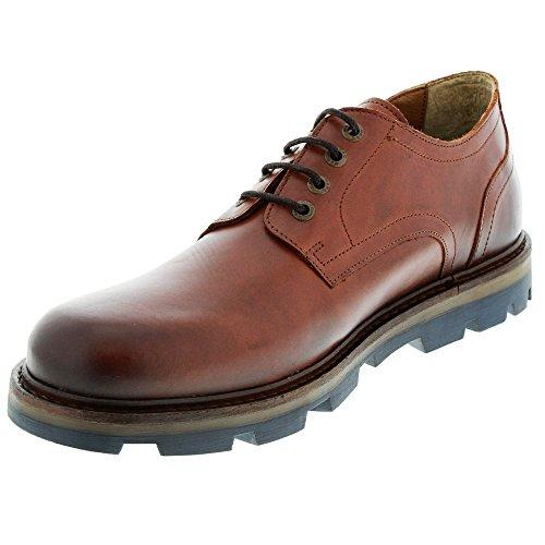 Brauner Herren Mokassin (Marc Shoes Herren Tommy Brauner Leder Halbschuh, Größe 44)