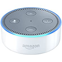 Certified Refurbished Amazon Echo Dot (Previous Generation - 2nd Gen), White