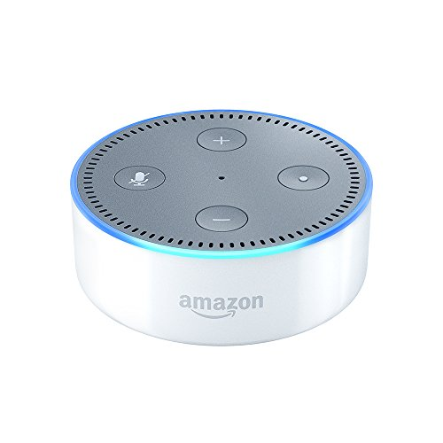 Amazon Echo Dot (2. Gen.) Intelligenter Lautsprecher mit Alexa, Weiß T 5 Fall