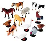Best Animals - Super Toy Farm Animals Figures Set for Kids/Young Review