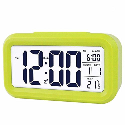QUIEANT Pigri notte di sonno-muto moderno creativo orologio elettronico,D