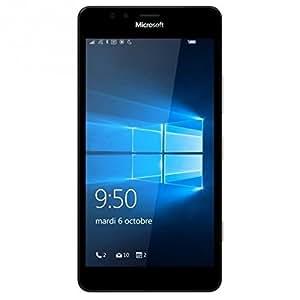 Microsoft Lumia 950 XL Smartphone Débloqué 4G (Ecran : 5,7 Pouces - 32 Go - Double Nano-SIM - Windows Phone) Noir