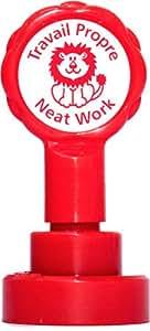 Xclamations X11962 Tampon Auto-encreur pour Enseignant Travail propre