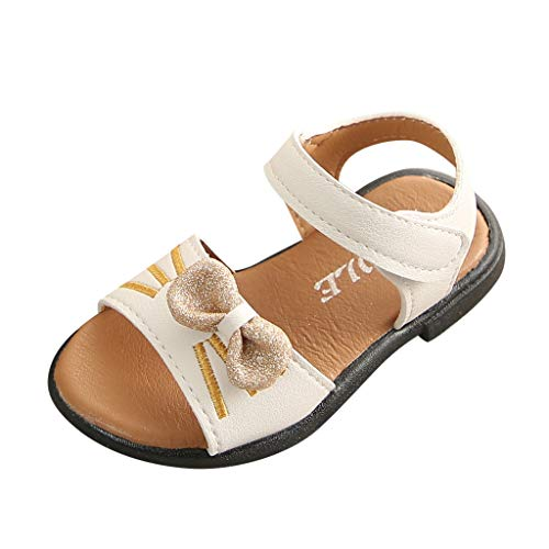 Kostüm Kid Dance Cute - BURFLY Baby Girl Bow Cute Sandals Non-Slip Soft Bottom Shoes Outdoor Sports Shoes Beach Shoes Princess Shoes Dance Shoes