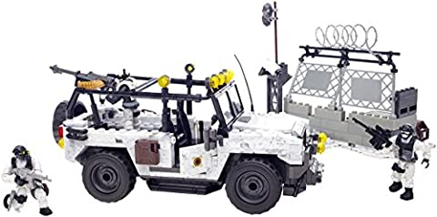 Mega Bloks Call Of Duty - Mega Bloks Call of Duty Arctic Invasion