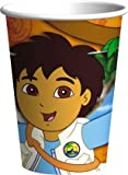 Go Diego Go Go, Diego, Go! 9 oz. Paper Cup - 8 count