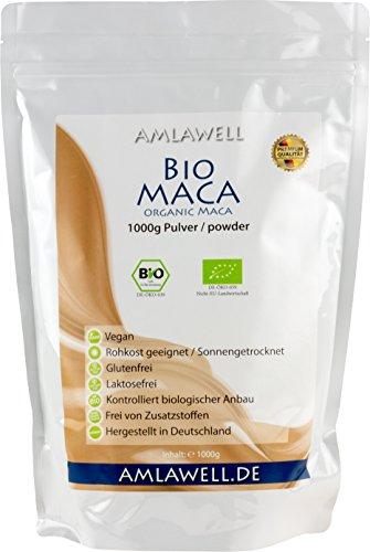Amlawell Bio-Maca-Pulver/1000g/BIO – DE-ÖKO-039