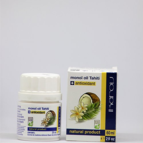 Natural Product Monoï de Tahiti Oil + Natural Antioxidant, 60 ml Ikarov -