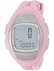 Sportline Women's Solo 925 Heart Rate Monitor and Pedometer - Silver with Pink Strap