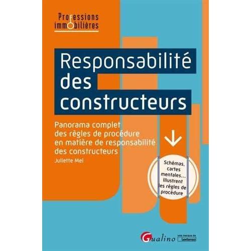 Responsabilité des constructeurs : Panorama complet des règles de procédure en matière de responsabilité des constructeurs