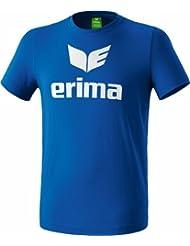erima T-Shirt Promo - Camiseta de fitness para hombre, color azul, talla 116
