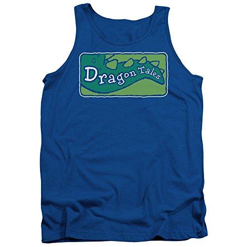 Dragon Tales Herren Pullunder Königsblau